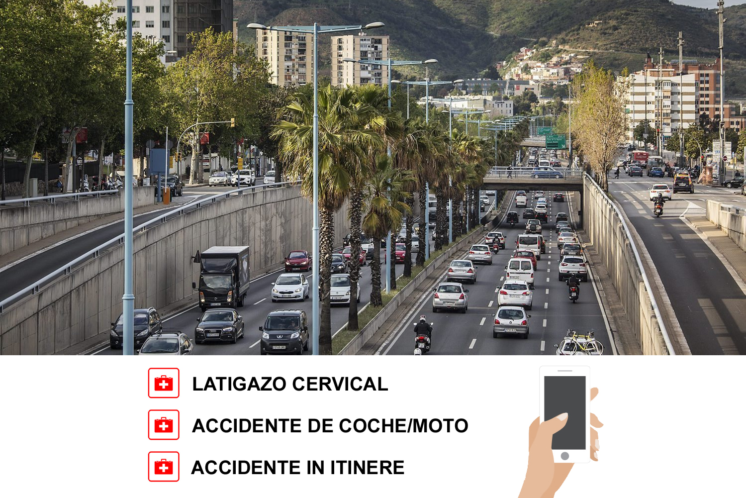 Reclamación accidente